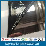 316L laminó la hoja de acero inoxidable del final del espejo