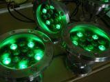 IP68 316 스테인리스 RGB 18W 수중 LED 어업 빛