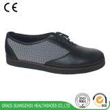 De oudere Schoenen van het Leer van Rubbersponge Outsole van de Schoenen van het Comfort Lichtgewicht