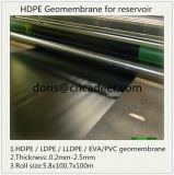 HDPE Vlotte die Geomembranes van Materiaal Vigin wordt gemaakt