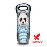 Pug van het puppy de Wijn van het Neopreen/de Zak van de Totalisator van de Fles van het Water