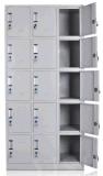 Porte en verre commercial classeur en acier (FEC DM-1)