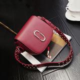 Evergreen Últimas sacolas para mulheres de design Bolsa de couro de alta qualidade Bolsa de ombro Studded Long Strap Messenger Shouldap Bag Sy8297