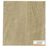 Haché du grain du bois Papier décoratif pour les revêtements de sol