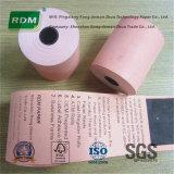 Papel termal coloreado para las impresoras del recibo