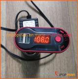Kit de carregador de telefone transmissor FM com leitor de MP3 de carro Leitor de Bluetooth Transmissor de FM