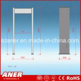 Detector van het Metaal van het Frame van de Deur van de Gevoeligheid van de Fabrikant van China de Hoge met 6zones