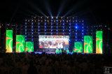 Grande LED schermo dell'interno della fase posteriore per gli eventi ed il concerto locativi P3.125