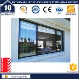 Finestra di scivolamento di vetro del blocco per grafici di alluminio di prezzi bassi 2017