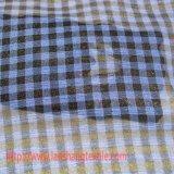 Tessuto del poliestere della grata del filato per i vestiti dell'indumento della sciarpa del vestito dal pannello esterno