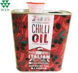 750ml Huile de cuisson comestibles vide Tin Tin d'alimentation de la Chine peut l'usine conteneur en métal pour huile d'olive peut Canning