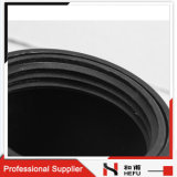 Accessori per tubi di plastica della saldatura dello zoccolo di estensione dell'HDPE del rifornimento idrico