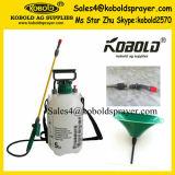 Pulverizador de jardim de pressão 5L-8L Kobold com bocal de ventilador