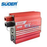 Suoer 24V 220V 600Wの格子タイの太陽エネルギーインバーター(GTI-H600B)