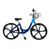 Bicyclette réglable/vélo public avec le panier du SUS 304