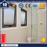 Cadre en aluminium Petite fenêtre décorative avec écran insonorisé avec manivelle