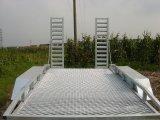 De dubbele Aanhangwagen van het Platform van het Bed van de Installatie van de As Lage