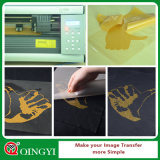 Vinyle bon marché de transfert thermique de scintillement des prix et de qualité de Qingyi pour le T-shirt