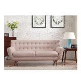 Soggiorno semplice del divano del tessuto del sofà europeo di svago europeo