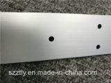 Profil en forme de L en aluminium d'extrusion usiné par commande numérique par ordinateur
