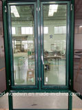 Indicador de alumínio do Casement da ruptura térmica da alta qualidade de Foshan com tela da mosca