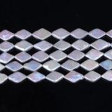Перла Keshi формы косоугольника заново родившийся пресноводная