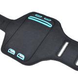 Caisse courante de brassard de la gymnastique DEL de nuit rechargeable de brassard d'accessoires de téléphone