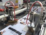 Der Stützblech-Beutel, der Maschine/völlig Auotamatic untere Plastikschweißung weiches Schleifen-Griff-Einkaufen herstellt, tragen den Beutel, der Maschine herstellt