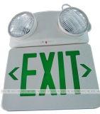 Indicatore luminoso 220V ricaricabile dell'uscita di sicurezza del LED