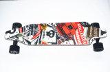 Скейтборд моторов светлого дистанционного управления способа конструкции беспроволочного двойной