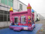 Princesa Inflatable Bouncer Castle para los niños