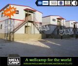 Wellcampモジュラーサンドイッチパネルのプレハブの家