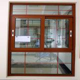 부속품을%s 가진 프랑스 작풍 청동 색깔 알루미늄 미닫이 문 Windows
