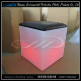 LLDPE Taburete de bar Inlluminated Furniture for Nightclub Bar
