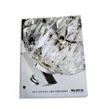 Impression Softcover de livre de papier enduit de laminage de film