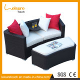 Modern Indoor Rattan Corner Doubles Sofa Set Leisure Outdoor Garden Patio Sitting Room Furniture