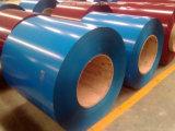 PPGI Prepainted a bobina de aço galvanizada, bobina de aço galvanizada para a folha da telhadura dos armazéns de China
