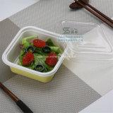 350ml 처분할 수 있는 플라스틱 디저트 토고 음식 상자