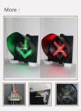 Высокий светофор станции пошлины зеленого сигнала дороги 400mm красный
