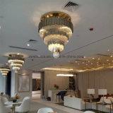 ホテルのプロジェクトのための装飾的な金属のペンダントかハングランプ