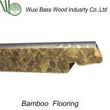 Suelo de bambú con el tecleo de Unilin