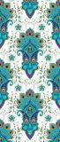 De multi Kleur Afgedrukte Mat van Pilate van de Yoga met de Zak van de Yoga van de Riem van de Yoga