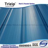 Couture permanent de l'acier prépeint Roofing Triroof65-470