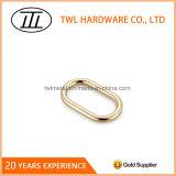 Inarcamento ovale del giunto circolare del piccolo metallo registrabile della borsa per gli articoli di pelle