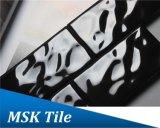mattonelle di ceramica del sottopassaggio lustrate il nero della goccia di pioggia di 75X150mm