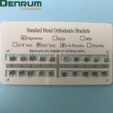Стандартный Edgewise Denrm ортодонтические скобы