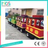 Electroic sin rieles serie del tren de interior y al aire libre del parque de atracciones