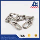 Norme japonaise de la chaîne de liaison en acier inoxydable 304