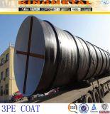 API 3PE/3PP do revestimento do tubo de aço carbono estirados a frio
