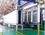Máquina de capa automática manual del polvo para los productos de metal